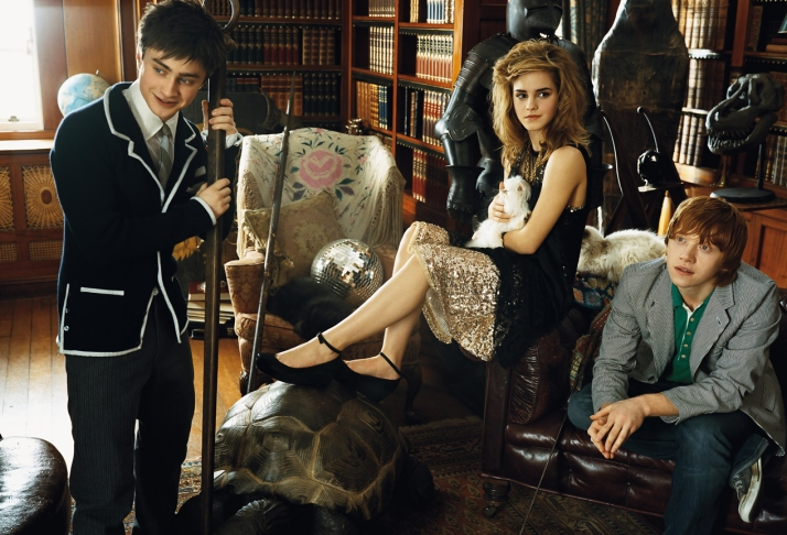 Emma Watson - Teen Vogue Magazine (2007) . Photo by Norman Jean Roy