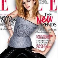Emma Watson - Elle UK Magazine Cover (2009)
