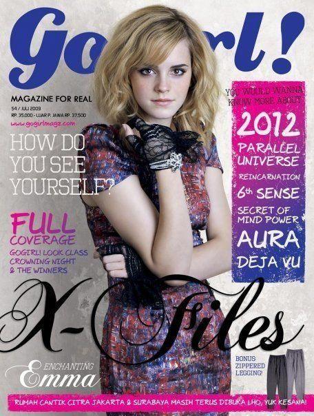 Emma Watson - Go Girl Magazine (2009) July Issue (usa)