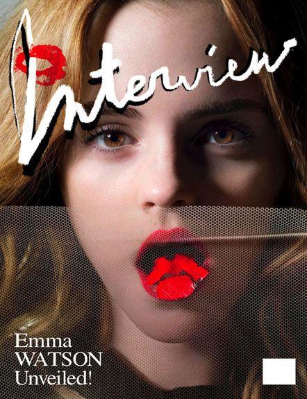 Emma Watson - Interview Magazine - May 2009 Issue