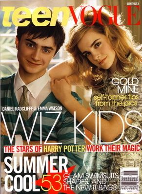 Emma Watson - Teen Vogue Magazine Cover (2007) June Issue (usa)