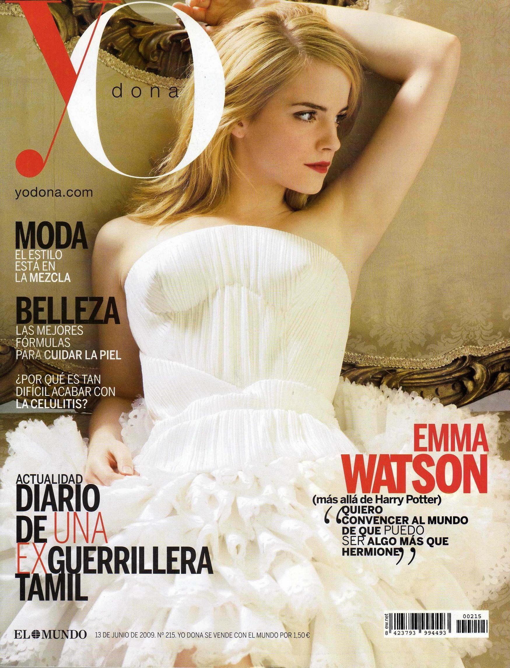 Emma Watson - YO Dona Magazine Cover (June 2009 Issue)
