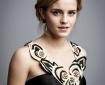 Emma Watson Portrait at the BAFTA awards 2009