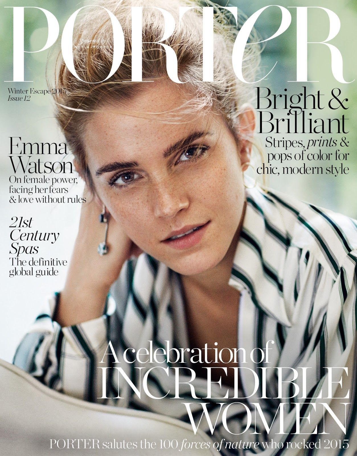 Emma Watson - Porter Magazine Cover (December 2015 Issue)